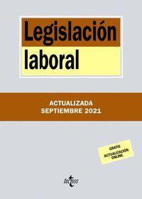 LEGISLACIÓN LABORAL (2021)