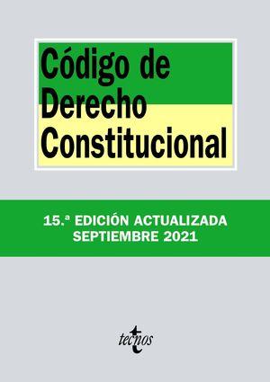 CÓDIGO DE DERECHO CONSTITUCIONAL (2021)