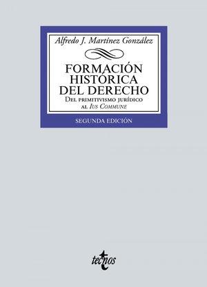 FORMACIÓN HISTÓRICA DEL DERECHO (2021)