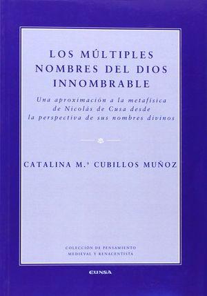 LOS MÚLTIPLES NOMBRES DEL DIOS INNOMBRABLE