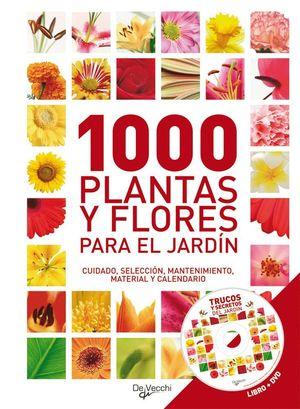 1001 PLANTAS Y FLORES PARA EL JARDÍN (ESTUCHE