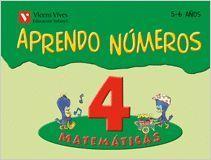 APRENDO NUMEROS CUADERNO 4 (5-6 AÑOS)