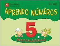 APRENDO NUMEROS CUADERNO 5 (5-6 AÑOS)