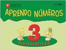 APRENDO NUMEROS CUADERNO 3 (5-6 AÑOS)