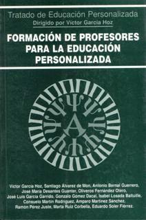 FORMACION DE PROFESORES PARA LA EDUCACION PERSONAL