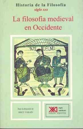 LA FILOSOFIA MEDIEVAL EN OCCIDENTE