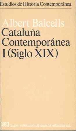 CATALUÑA CONTEMPORANEA I SIGLO XIX