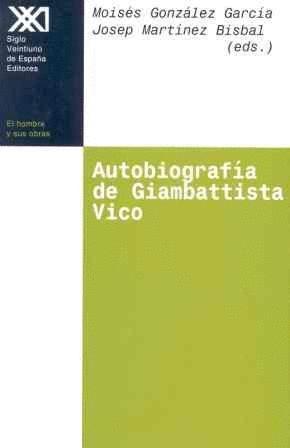 AUTOBIOGRAFIA DE GIAMBATTISTA VICO.