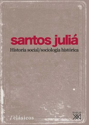 HISTORIA SOCIAL/SOCIOLOGIA HISTORICA