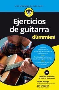 EJERCICIOS DE GUITARRA PARA DUMMIES