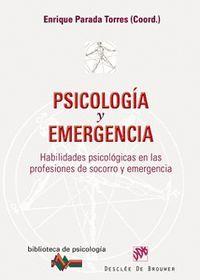 PSICOLOGIA Y EMERGENCIA