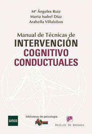 MANUAL DE TÉCNICAS DE INTERVENCIÓN COGNITIVO-CONDUCTUALES