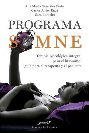 PROGRAMA SOMNE. TERAPIA PSICOLOGICA INTEGRAL PARA EL INSOMNIO