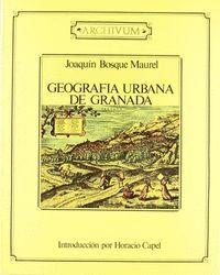 GEOGRAFIA URBANA DE GRANADA