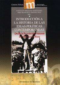 INTRODUCCION A LA HISTORIA DE LAS IDEAS POLITICAS CONTEMPORANEAS
