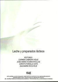 LECHE Y PREPARADOS LÁCTEOS (CD-ROM).