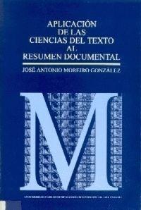 APLICACIÓN DE LAS CIENCIAS DEL TEXTO AL RESUMEN DOCUMENTAL
