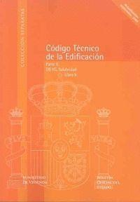CODIGO TECNICO DE LA EDIFICACION (CTE). LIBRO 9. PARTE II, DB HS,