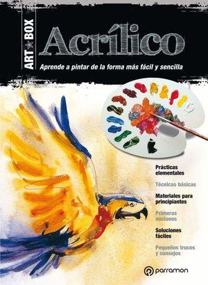 ACRILICO. KIT LIBRO + LAMINAS + MATERIAL