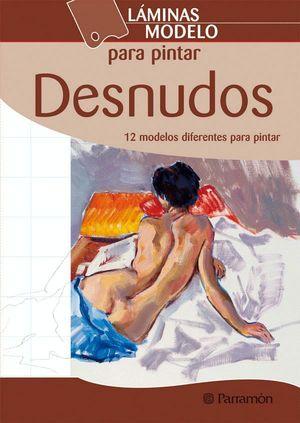 LAMINAS MODELO PARA PINTAR DESNUDOS