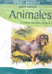 LAMINAS MODELO PARA PINTAR ANIMALES