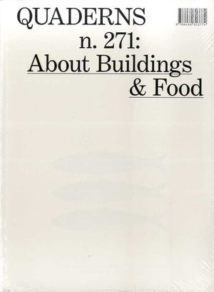QUADERNS N.271 ABOUT BUILDING & FOOD