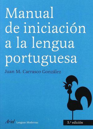MANUAL DE INICIACION A LA LENGUA PORTUGUESA