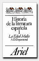 HISTORIA DE LA LITERATURA ESPAÑOLA, VOL.I EDAD MEDIA