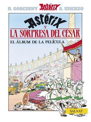 ASTERIX Y LA SORPRESA DEL CESAR (EL ALBUM DE LA PELICULA)