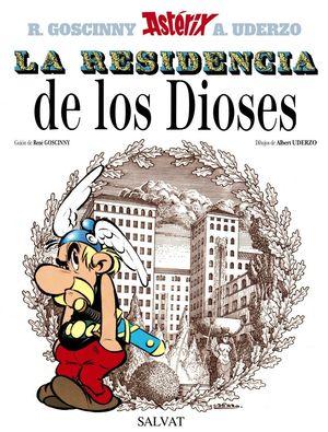 ASTERIX Y LA RESIDENCIA DE LOS DIOSES