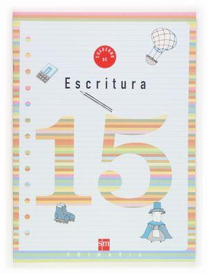 CUADERNO DE ESCRITURA 15