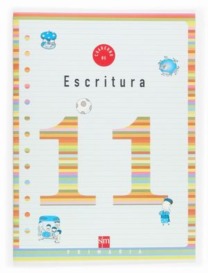 CUADERNO ESCRITURA 11 4ºEP 05
