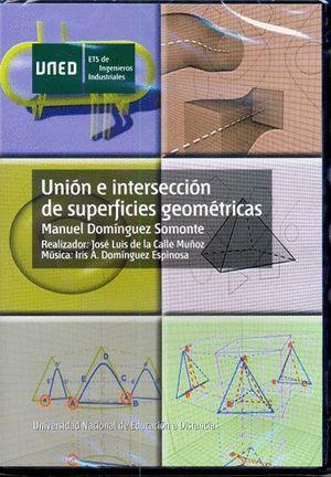 UNION E INTERSECCION DE SUPERFICIES GEOMETRICAS
