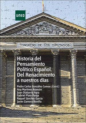 HISTORIA DEL PENSAMIENTO POLITICO ESPAÑOL