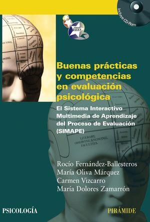 BUENAS PRACTICAS Y COMPETENCIAS EN EVALUACION PSICOLOGICA +CD