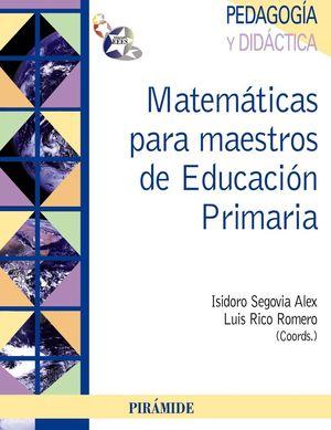 MATEMATICAS PARA MAESTROS DE EDUCACION PRIMARIA