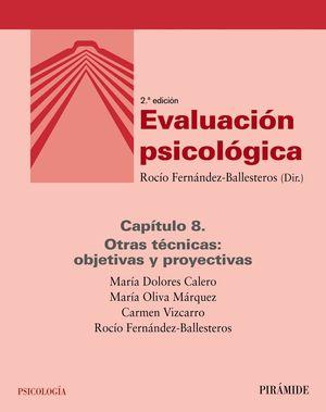 EVALUACIÓN PSICOLÓGICA (CAPÍTULO 8)