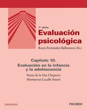 EVALUACIÓN PSICOLÓGICA (CAPÍTULO 10)