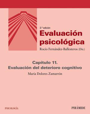 EVALUACIÓN PSICOLÓGICA (CAPÍTULO 11)