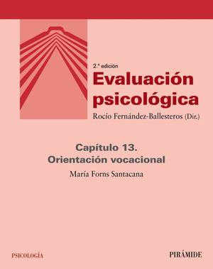EVALUACIÓN PSICOLÓGICA (CAPÍTULO 13)