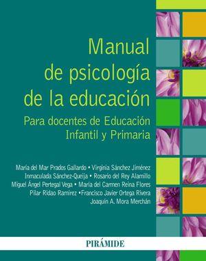 MANUAL DE PSICOLOGÍA DE LA EDUCACIÓN