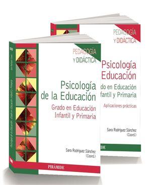 PACK PSICOLOGIA DE LA EDUCACION + APLICACIONES PRACTICAS 2VOL.