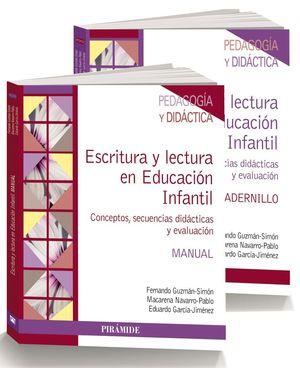 PACK ESCRITURA Y LECTURA EN EDUCACION INFANTIL + CUADERNILLO 2VOL