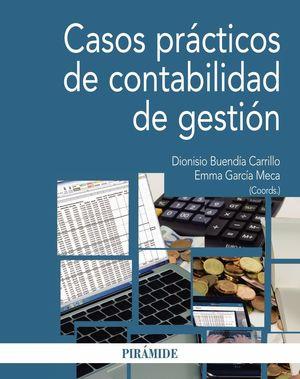CASOS PRACTICOS DE CONTABILIDAD DE GESTION