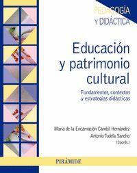 EDUCACION Y PATRIMONIO CULTURAL