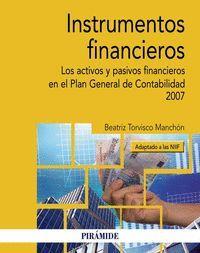 INSTRUMENTOS FINANCIEROS (ADAPTADO A LAS NIIF)