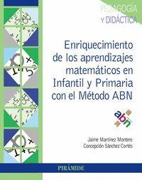 ENRIQUECIMIENTO DE LOS APRENDIZAJES MATEMÁTICOS EN INFANTIL Y PRIMARIA