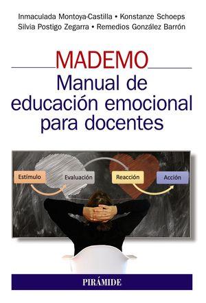 MADEMO, MANUAL DE EDUCACION EMOCIONAL PARA DOCENTES