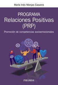 PROGRAMA RELACIONES POSITIVAS (PRP)