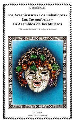 ACARNIENSES / CABALLEROS / TESMOFORIAS / ASAMBLEA DE MUJERES